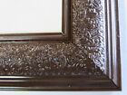 "1.8"" Wide Swirl Espresso Solid Wood Picture Frame-Custom Made Standard Size"