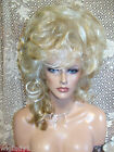 HALLOWEEN SPECIAL VEGAS GIRL WIGS PICK A COLOR SIDE DO UPDO FUN DOLLY LOOK SEXY