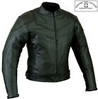 BATMAN STYLE SMART FIT MENS CE ARMOUR MOTORBIKE / MOTORCYCLE LEATHER JACKET segunda mano  Embacar hacia Spain