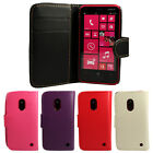 WALLET PU LEATHER FLIP CASE COVER FOR THE NOKIA LUMIA 620 !!