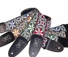 Levy's Guitar Strap - Weave Floral Design Electric-Guitar Acoustic Bass