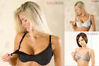 Mama DOTS Maternity Breastfeeding Nursing Bra Bras 32B-42I 100% Cotton Colours