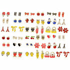 Color Enamel Fashion Jewelry Earrings for Teen Girl Women, 36 styles