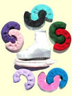 Terry Cloth S-T-R-E-T-C-H Blade Covers / Skate Soakers 12 COLOR CHOICES LRG-XL