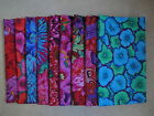 Philip Jacobs Assorted Fabrics Westminster Red Blue Green Pink Flowers 1/2 yards