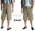 "Men Shorts 13"" Loose Fit cell phone, multi pocket Dickies work short 42283 Solid"