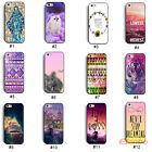 New Cute Elephant Owl Hybrid Hard Back Case Cover Skin For iPhone 5 5G 5S
