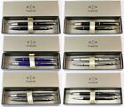 Parker IM & IM Premium Fountain & Ballpoint Pen Sets. 6 Finishes. Gift Box NEW