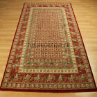 Wool Classic Rugs In Red & Rust - 1527 R A Traditional Wilton Rug In 6 Size