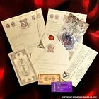 Harry Potter Hogwarts Acceptance Letter, Deathly Hallows Pendant + Marauders Map