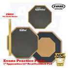 Evans Real Feel Practice Pad Deal + FREE ProMark Sticks! (Single/Double/Kick)