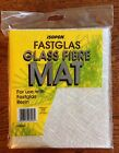 GLASS FIBRE TISSUE MAT FOR USE WITH FASTGLAS RESIN CARS BOATS CARAVANS POND ETC