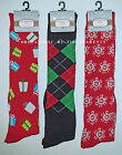 KNEE SOCKS – CHRISTMAS – HOLIDAY – RED - GREEN – LADIES - SIZE 9 - 11 –NWT $9