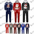 Mens Womens Unisex Kids All In One Xmas Piece Snowman Santa Christmas Onesie