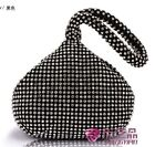 Triangle Crystal Women Bride Cocktail Party Evening Clutch Bag Handbag Purse