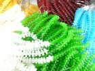 2 Strands Sea Glass 50 beads Square Spacer Beads You Pick Color