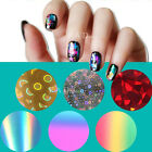 Galaxy Nail Art Decoration Transfer Paper Foil Sticker Tips Wrap Decal Smooth