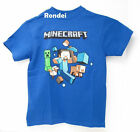 MINECRAFT BOYS KIDS YOUTH COTTON GRAPHIC LICENSED STEEVE  TEE SHIRT TOP NEW L XL