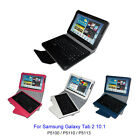 Leather Case with Bluetooth Keyboard for Samsung Galaxy Tab 2 10.1 P5100/P5113