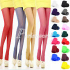 New Slim Thin Women's Spring Summer Pantyhose Tights 20D Candy Color See Through