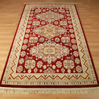 Kingston Traditional Rugs In Red & Cream - 322J