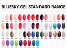 BLUESKY, NAIL POLISH, UV/LED GEL. Colours 01 - 50, FREE CND Shellac Remover Wrap