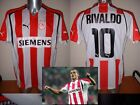 Olympiakos Rivaldo Brazil Greece M & XL Shirt Jersey Football Soccer Puma New