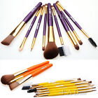 9PCS Makeup Brush Set Eyeshadow Powder Foundation Lip Blush Nose Mascara Brushes