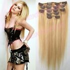 EXTENSIONS DE CHEVEUX A CLIP 100% NATUREL RÉMY HAIR 51 CM ,8 BANDES, 18 CLIPS