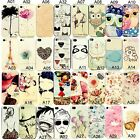 New Painted Various Pattern Phone Hard Back Skin Case Cover For iPhone 4 4S