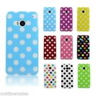 Tough Polka Dot Case for HTC One