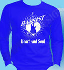 BASSIST GUITARIST LONG SLEEVE T-SHIRT BASS PLAYER GUITAR HERO HEART AND SOUL