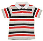 Ecko Unltd Toddler Boys S/S Striped White Polo Size 2T 3T 4T $34