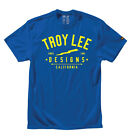 Troy Lee Designs Electric Premium Tee Royal S-XL