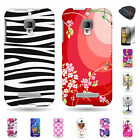 For Alcatel One Touch Fierce 7024W - Colorful Hard Shatter Proof Design Case