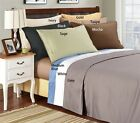 Luxury Egyptian Cotton 1500 Thread Count Solid Sheet Sets