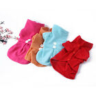 Soft Warm Dog Cat Fleece Coat Pet Clothes Apparel Clothing Shirts Costume Dress