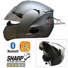 VIPER RS-V131 BLUETOOTH4 DVS Flip Up Motorbike Motorcycle Helmet ACU GOLD Silver