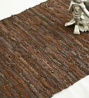 Fair Trade Indian Hand Made Loomed Rag Rug Chindi Mats 120 x 180cm - 4ft x 6ft
