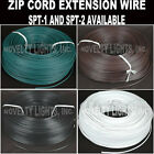 1,000' Zip Wire Cord Electric Wire AWG 18 Gauge Ground Wire Copper Wire