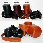 Leather Camera case bag strap Grip for Olympus OM-D E-M1 with 12-40MM lens