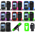 ZTE Reef N810 (Virgin Mobile) Phone Cover Case T-STAND + SCREEN PROTECTOR
