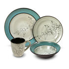 Gourmet Basics by Mikasa 32 Piece Dinnerware Set, Service for 8 Song Bird