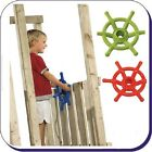 PIRATE BOAT STEERING WHEEL CLIMBING FRAME NEW LIME GREEN/RED !!!