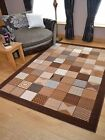 Caramel Brown Small Extra Large Long Floor Carpets Rugs Mats Hall Runners Cheap