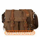 Vintage waterproof DSLR Camera Bag Messenger Shoulder Bag For Nikon Sony Canon