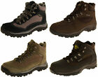 Mens Leather NORTHWEST TERRITORY Hiking Walking Waterproof Outdoor Ankle Boots