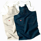 Dickies Adult Toolmaker Aprons Denim, Natural Bib Apron AC20 Cotton Pockets