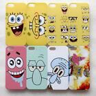 Patrick Squidward SpongeBob SquarePants expressions iPhone 5 5s Hard Case Cover