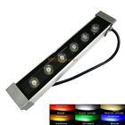 6W LED Wall Wash light Washer Linear bar White Warm Red Green Blue Yellow RGB Mi